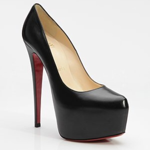 2ca571aba48 Christian Louboutin Shoes | Daffodile Black Pumps | Poshmark